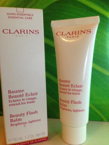 baume beauté éclair CLARINS