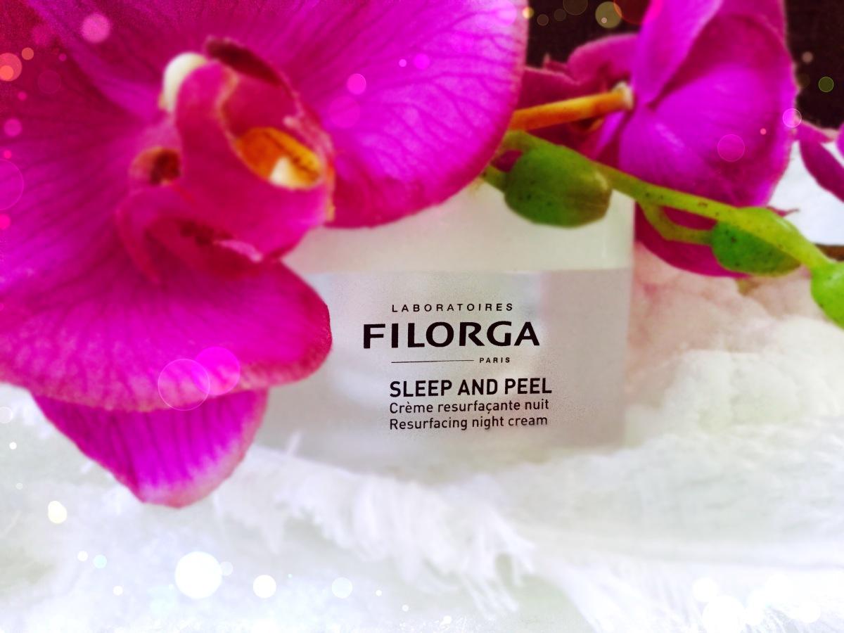 Devenir belle en dormant avec la crème sleep and Peel de Filorga ? ( test et avis)