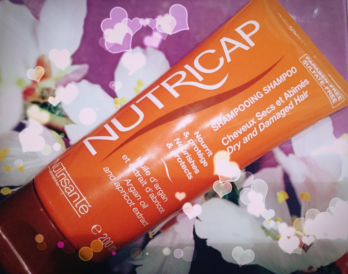NUTRICAP : mon 1er test avec un shampooing aux actifs naturels sans sulfates, sans parabens et sans silicones ( avis)